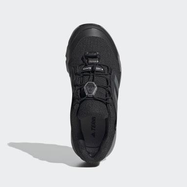 Çocuklar TERREX Siyah Terrex GORE-TEX Yürüyüş Ayakkabısı