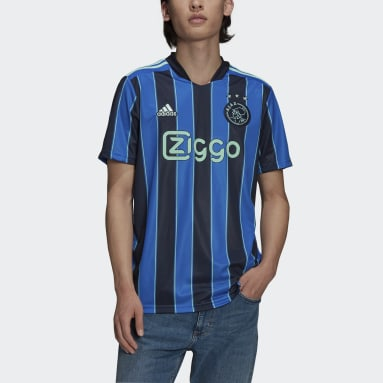 Football Blue Ajax Amsterdam 21/22 Away Jersey