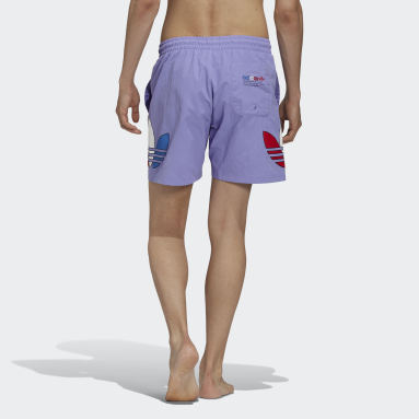 Men Originals Purple Adicolor Swim Shorts