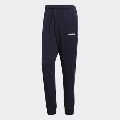 Pantalon Essentials Bleu Hommes Fitness Et Training