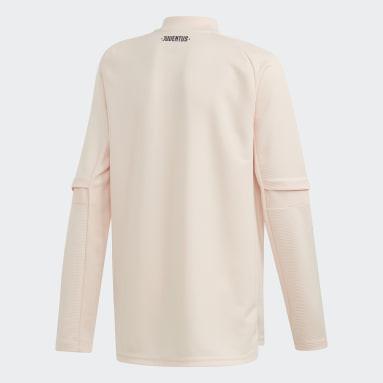 Kinderen Voetbal Roze Juventus Training Sweatshirt