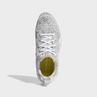 Women's Golf White CodeChaos 21 Primeblue Spikeless Golf Shoes