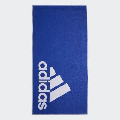 Vintersport Blå adidas håndklæde, stort