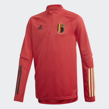 Kids Football Red Belgium Training Top