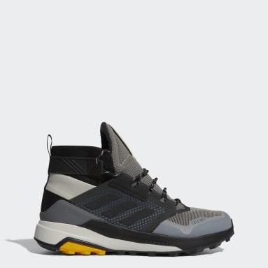 Men TERREX Grey Terrex Trailmaker Mid COLD.RDY Hiking Shoes