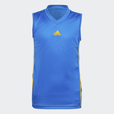 Børn Basketball Blå Young Creators Legend Basketball tanktop