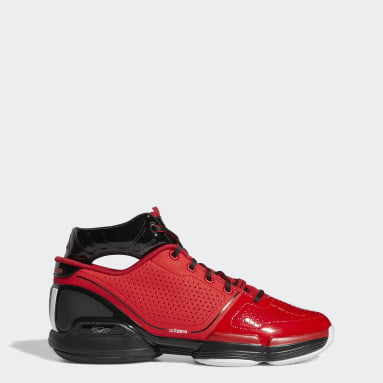 Men's Basketball Red Adizero Rose 1 Shoes