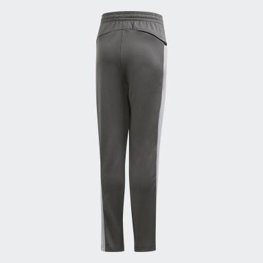 Boys Gym & Training Grey Football-Inspired X AEROREADY Pants