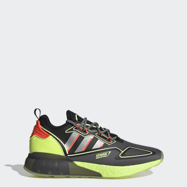 Chaussure ZX 2K Boost Marvel Gris Originals