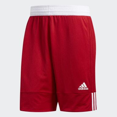 Pantalón corto Reversible 3G Speed Rojo Hombre Baloncesto