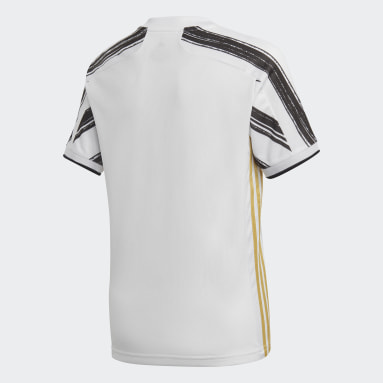 Kids Football White Juventus Home Jersey