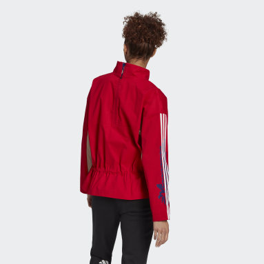 Women Sportswear Red LNY Light Jacket