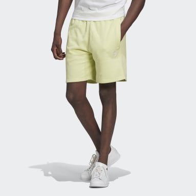 Short LOUNGEWEAR Trefoil Essentials Giallo Uomo Originals