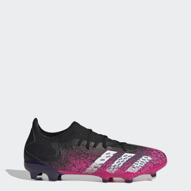 Football Black Predator Freak.3 Firm Ground Boots