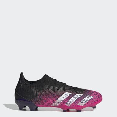 Soccer Black Predator Freak.3 Firm Ground Cleats