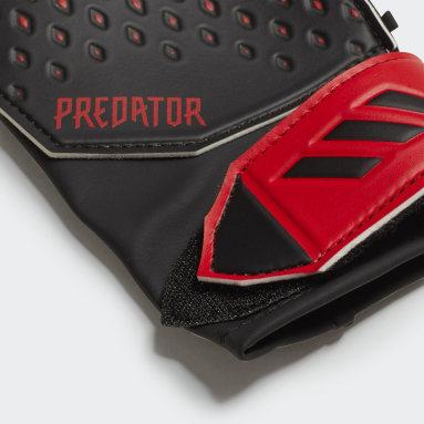 Kids Football Black Predator 20 Training Gloves
