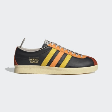 Heren Originals Zwart Gazelle Vintage Schoenen
