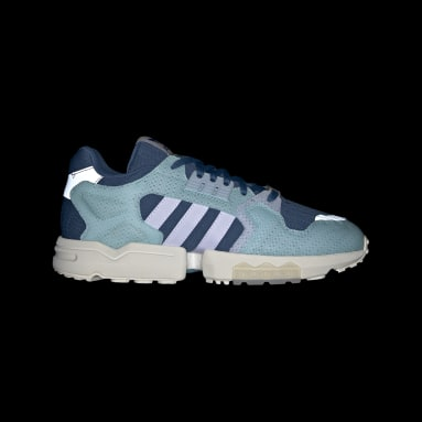 Women Originals Blue ZX Torsion Parley Shoes