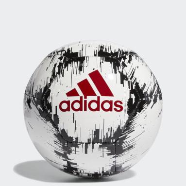 Men Football White adidas Glider 2 Ball