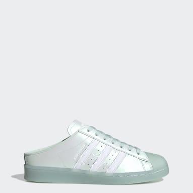 Zapatillas Superstar Sin Talón Verde Hombre Originals