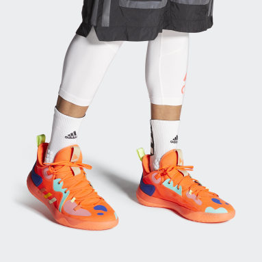 Basketball Orange Harden Stepback 2 Shoes
