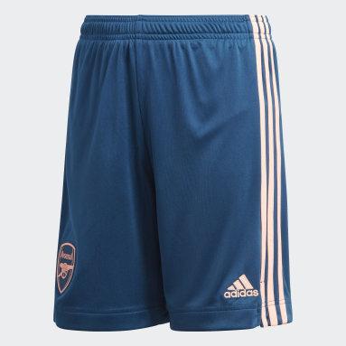 Kinderen Voetbal Blauw Arsenal 20/21 Derde Short