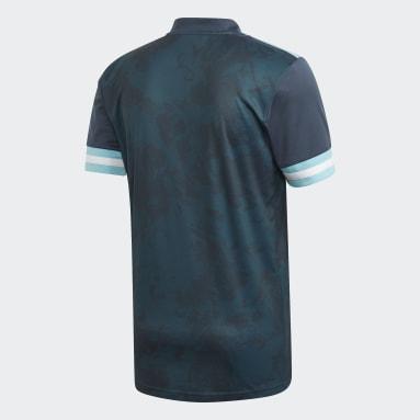Camisola Alternativa da Argentina Azul Criança Futebol