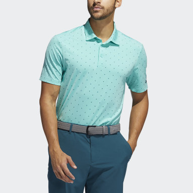 Men Golf Green Ultimate365 Printed Polo Shirt