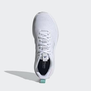 Women's Running White Fluidstreet Shoes