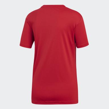 Camisa Campeon 19 Vermelho Mulher Futebol