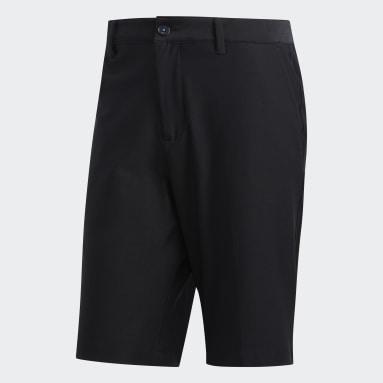 Men Golf Black Adipure Tech Shorts