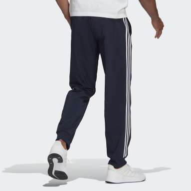 Men Sport Inspired AEROREADY Essentials Tapered Cuff Woven 3-Stripes Pants