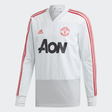 Training Top Manchester United Gris Hommes Football