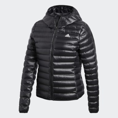 Frauen City Outdoor Varilite Daunenjacke Schwarz