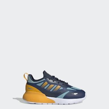 Children Originals Gold ZX 2K 2.0 Shoes