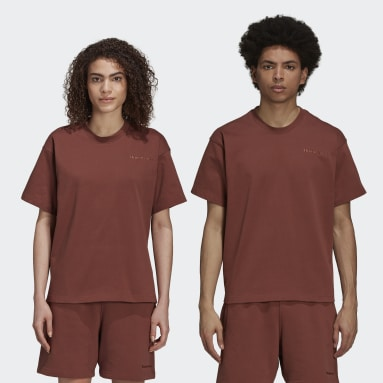 Originals Brown Pharrell Williams Basics Shirt (Gender Neutral)