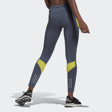 Women Running Green Own the Run Leggings