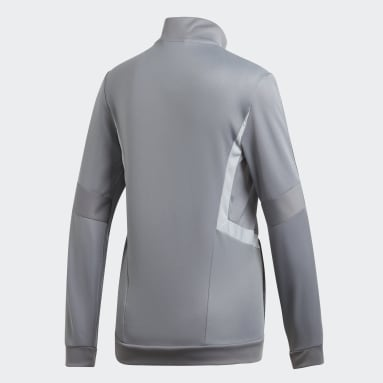 Women's Soccer Grey Tiro 19 Training Jacket