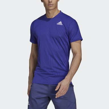 Heren Tennis Paars Tennis  Primeblue Freelift T-shirt