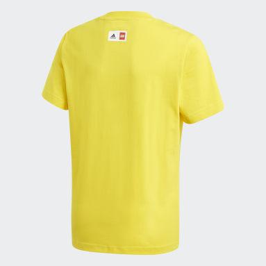 Kluci Cvičení A Trénink žlutá Tričko adidas x Classic LEGO® Graphic