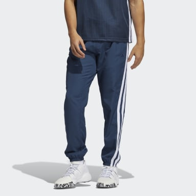 Men Basketball Blue Summer Legend Pants