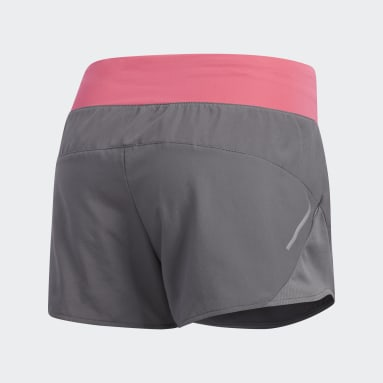 Pantalón corto Run It Gris Mujer Running