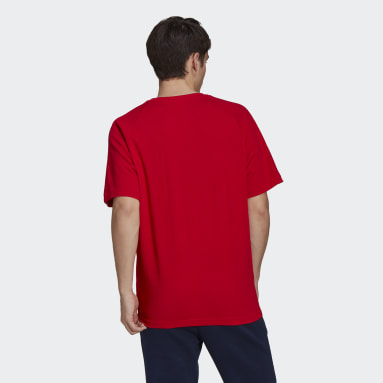 Men Originals Red Adicolor FTO Tee