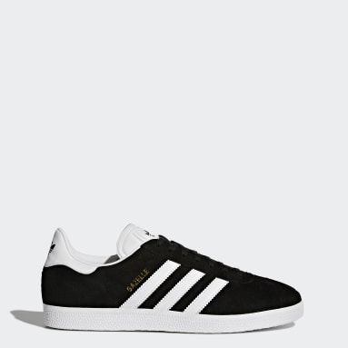 Originals Sort Gazelle sko