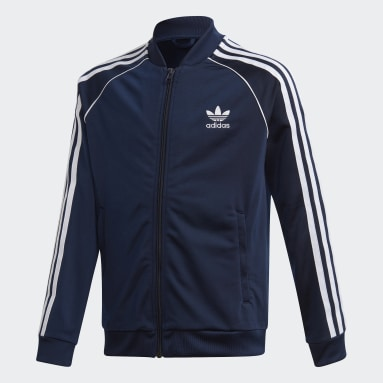 Kids Originals Blue SST Track Top