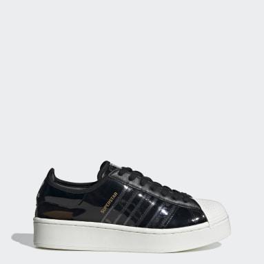 Γυναίκες Originals Μαύρο Superstar Bold Shoes