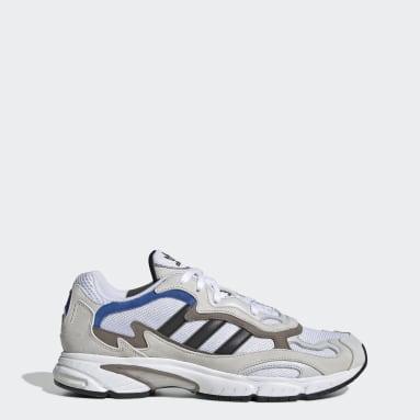 Originals White Temper Run Shoes