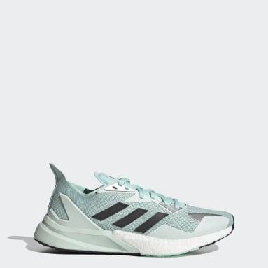 Women Running Green X9000L3 Shoes