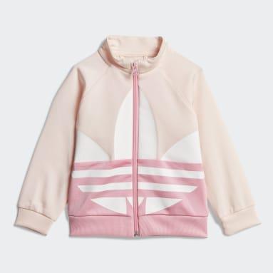 Infant & Toddler Originals Pink Large Trefoil Track Suit