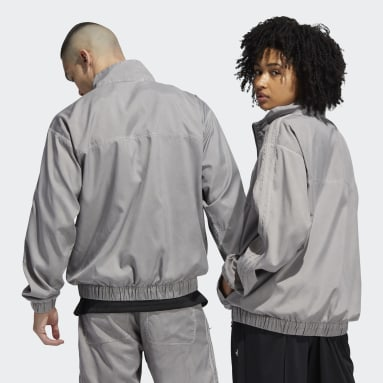Originals Grå Garment Dyed Anorak (Gender Neutral)